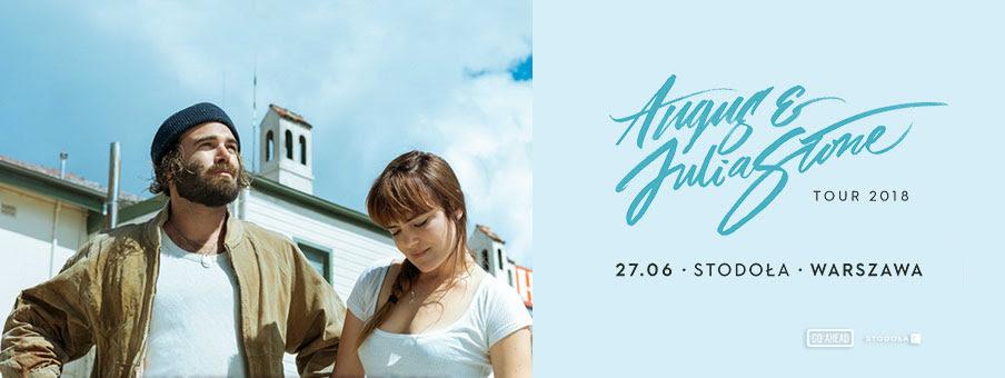 Angus&Julia Stone, Klub Stodoła, Warszawa (źródło: materiały prasowe)