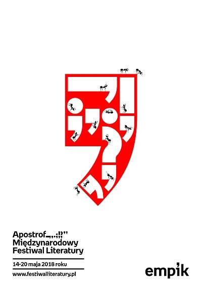 Międzynarodowy Festiwal Literatury Apostrof, plakat (źródło: materiały prasowe organizatora)