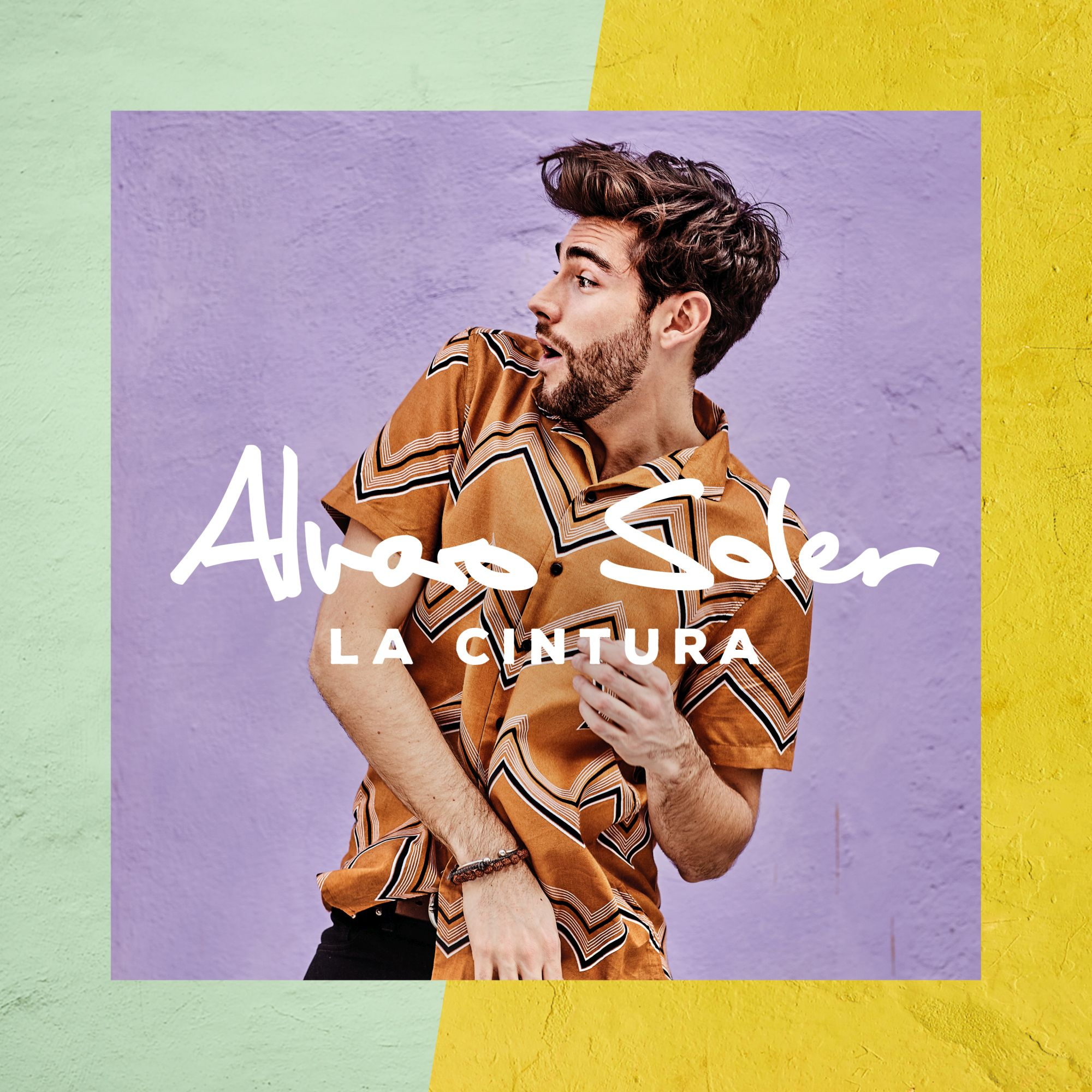 "Alvaro Soler, ""La Cintura"" – okładka singla (źródło: materiały prasowe wytwórni)"