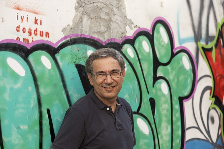 Orhan Pamuk, fot Hakan Ezilmez (źródło: materiały prasowe organizatora)