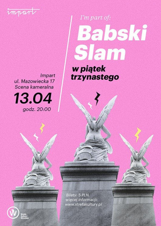 Babski Slam, grafika (źródło: materiały prasowe organizatora)