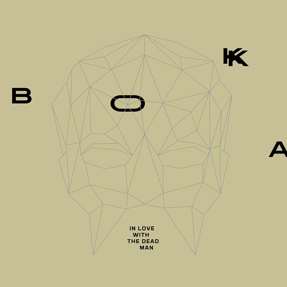 """BOKKA, """"In Love With Dead Man"""" – okładka singla (źródło: materiały prasowe wydawcy)"""
