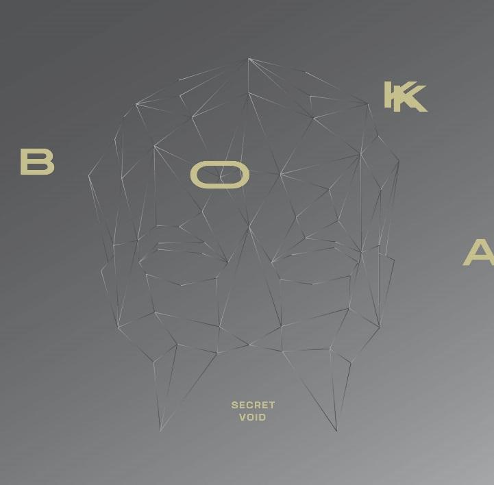 """BOKKA, """"Secret Void"""" – okładka singla (źródło: materiały prasowe wydawcy)"""
