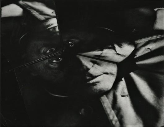 """Józef Robakowski, """"Portret formistyczny - Witkacemu"""", 1991, fotografia, dzięki uprzejmości artysty  (źródło: materiały prasowe organizatora)"""