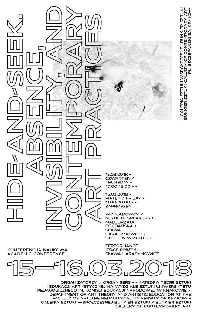 """Konferencja naukowa """"Hide-and-seek"""" (źródło: materiały prasowe organizatora)"""