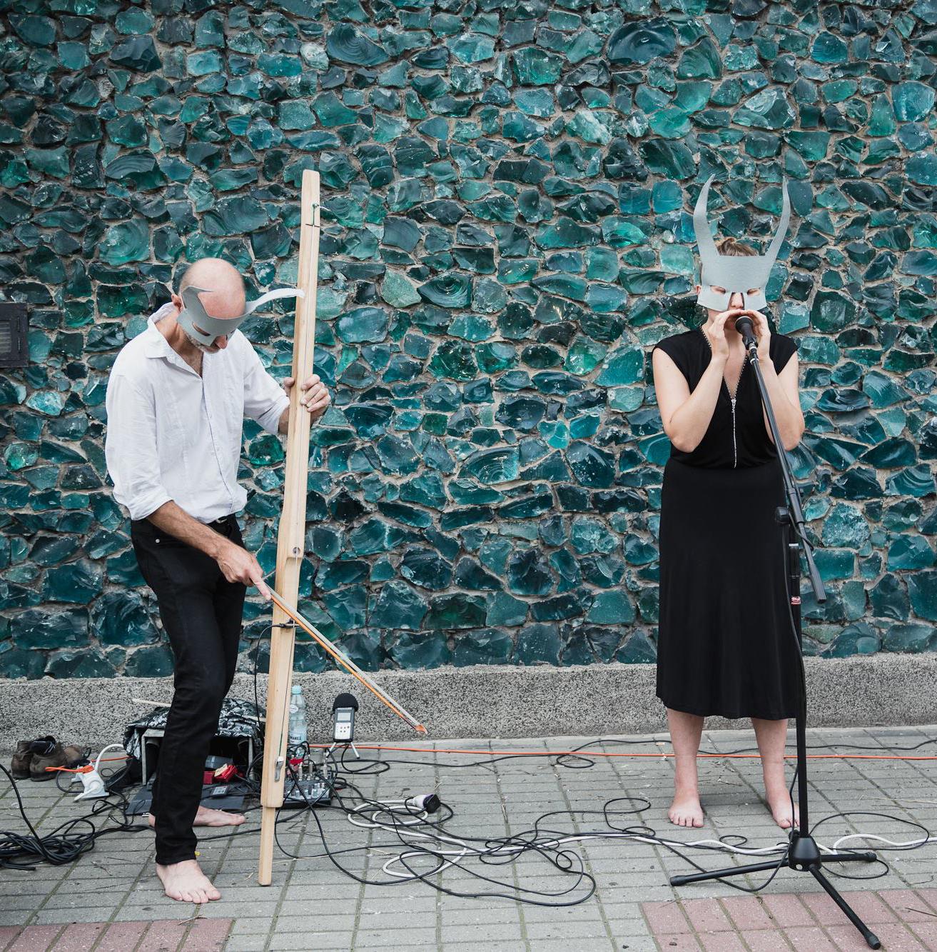 Mutant Goat, zdjęcie z koncertu w Galerii BWA w Katowicach (źródło: materiały prasowe)