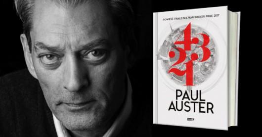 """Paul Auster, """"4321"""" (źródło: materiały prasowe wydawnictwa)"""