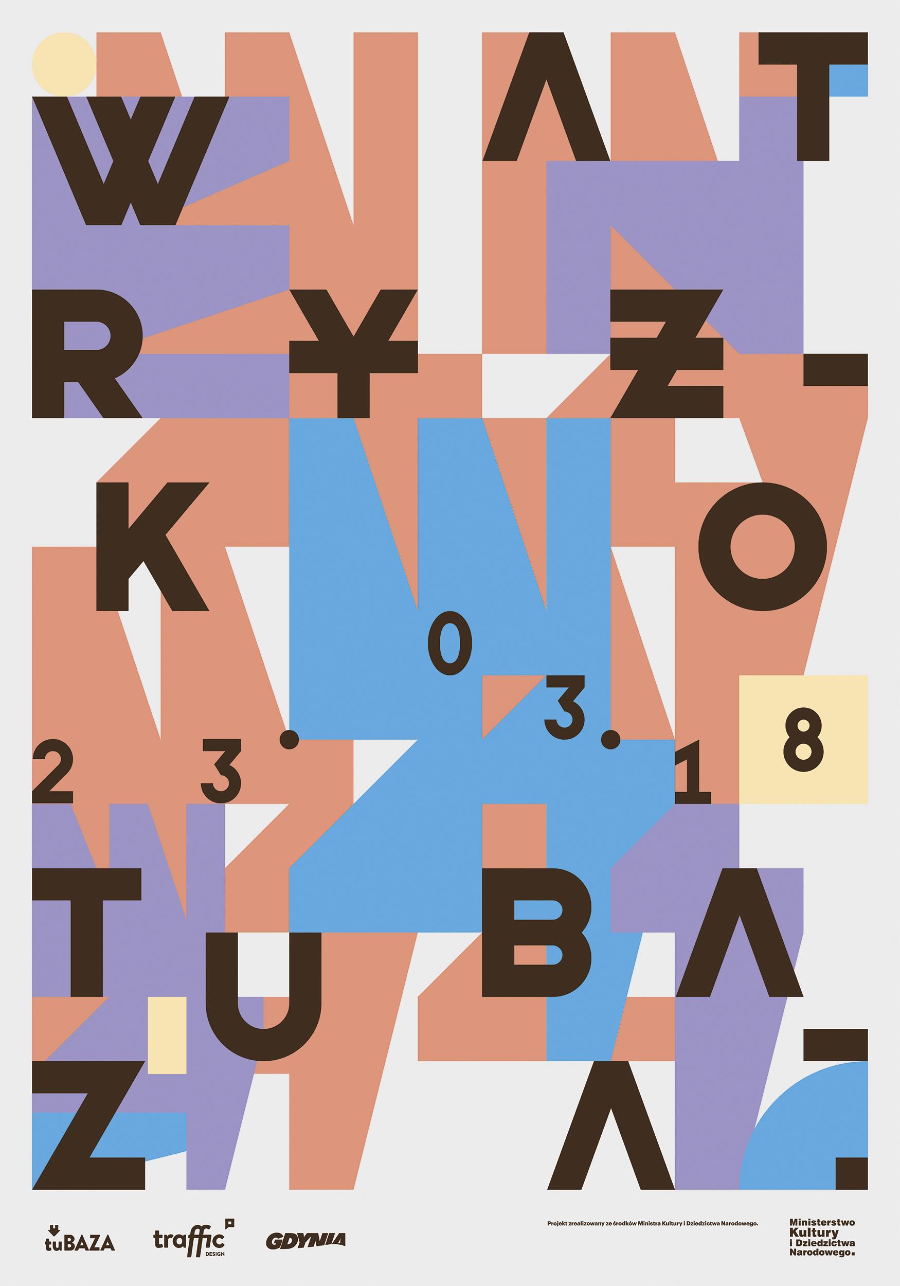 """Paweł Ryżko, plakat wystawy """"Wat"""" (źródło: materiały prasowe organizatora)"""
