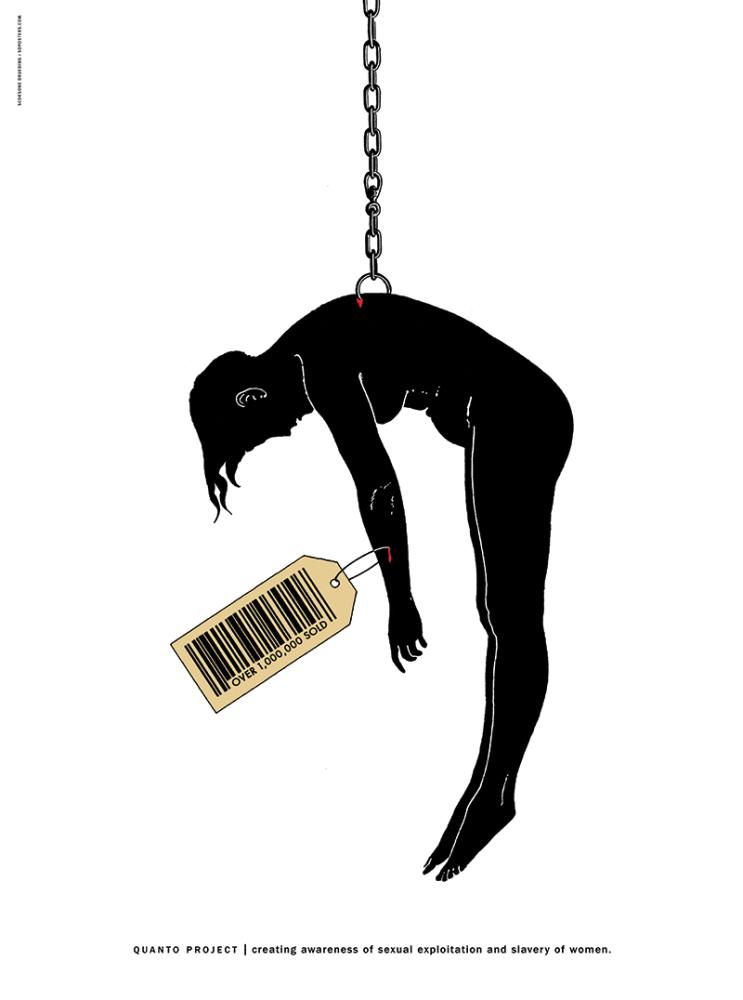 """Scorsone Joe & Drueding Alice, """"Niewolnictwo seksualne"""" (źródło: materiały prasowe organizatora)"""