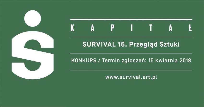 Konkurs na realizacje artystyczne do 16. Przeglądu Sztuki Survival (źródło: materiały prasowe organizatora)