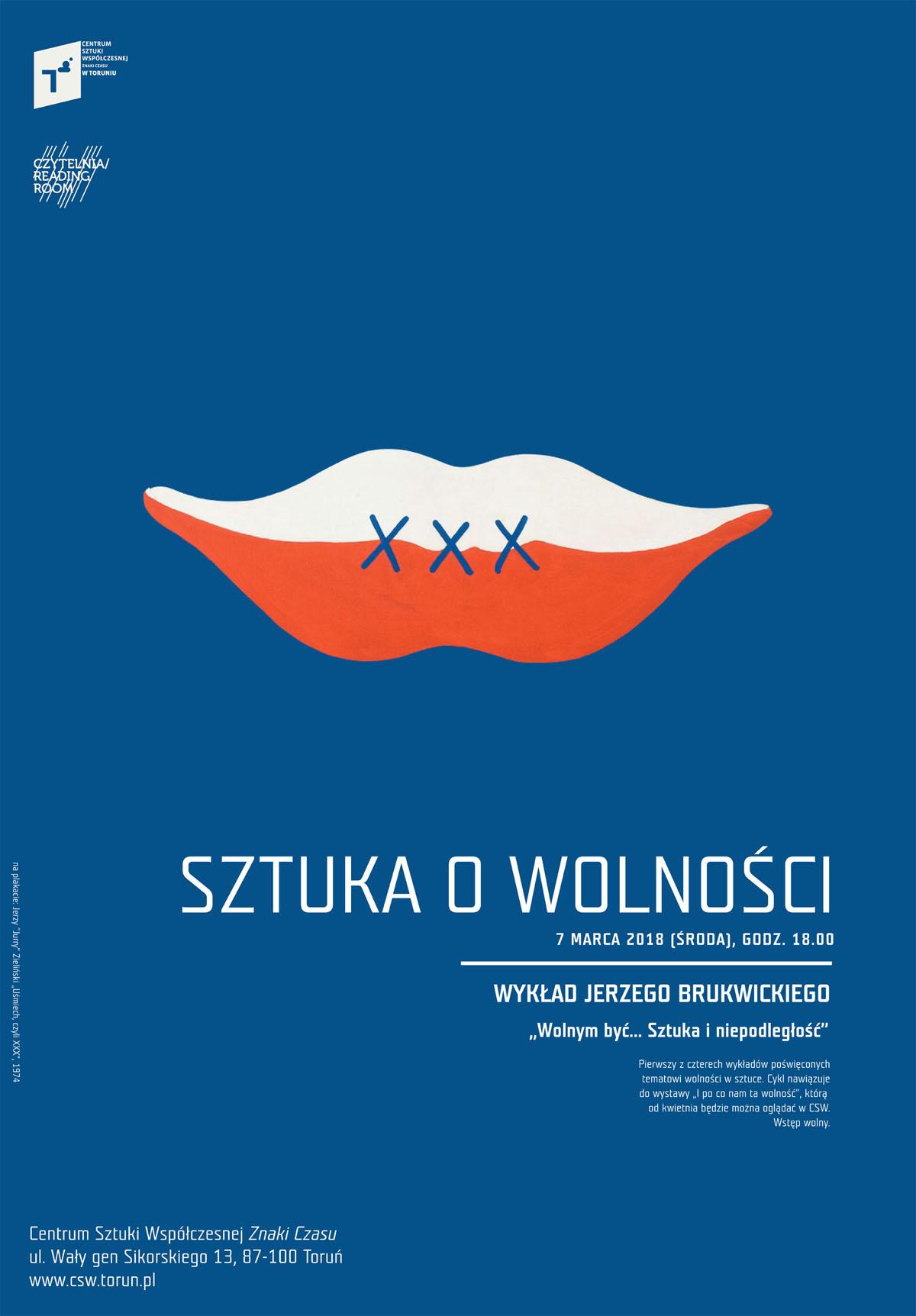 """Jerzy Brukwicki, """"Wolnym być... Sztuka i niezależność"""" (źródło: materiały prasowe organizatora)"""