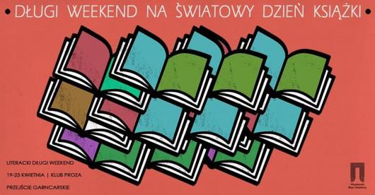 Długi Weekend Literacki, plakat (źródło: materiały prasowe organizatora)