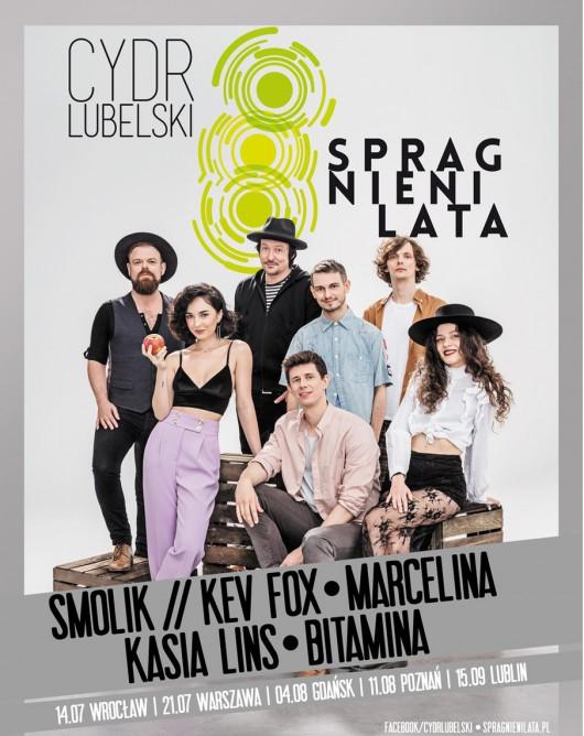 Cydr Lubelski Spragnieni Lata – plakat (źródło: materiały prasowe)