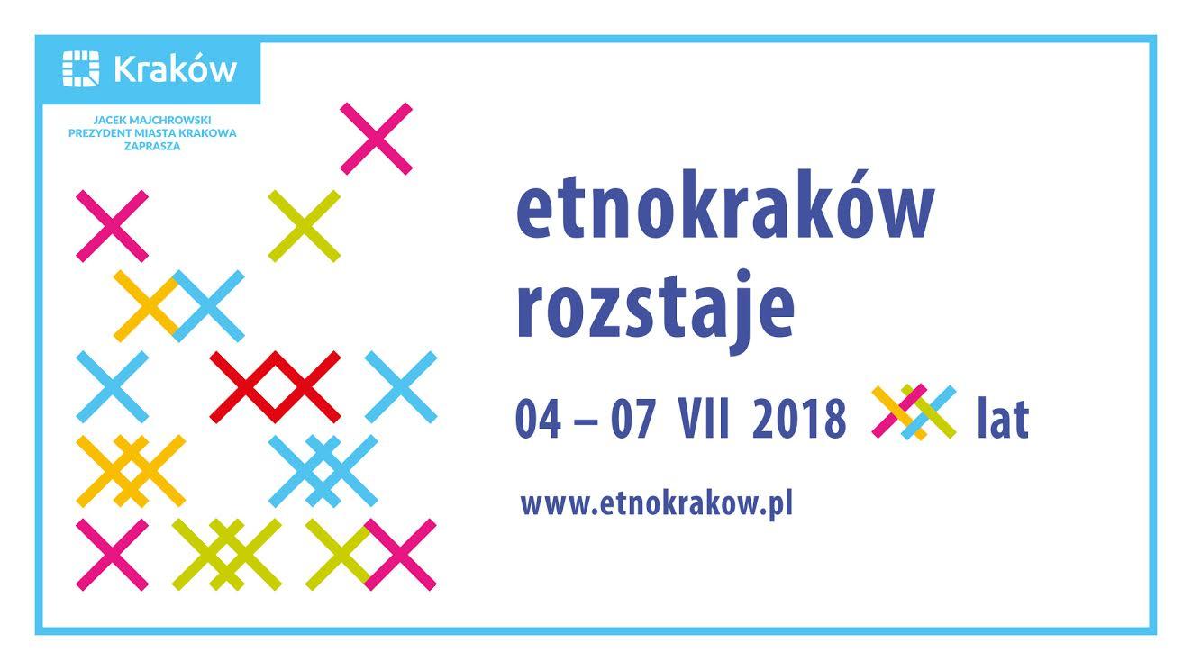 XX EtnoKraków/Rozstaje, plakat (źródło: materiały prasowe organizatora)