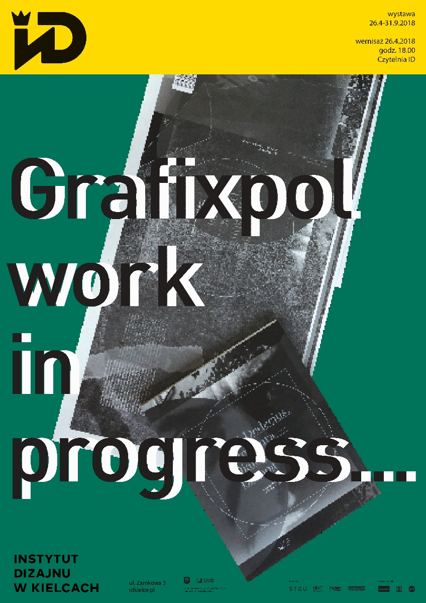 """""""Grafixpol. Work in progress…"""" (źródło: materiały prasowe ID Kielce)"""