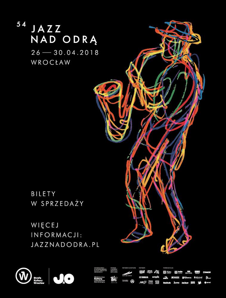 Jazz nad Odrą – plakat festiwalu (źródło: materiały prasowe organizatora)