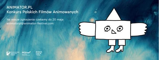 Konkurs Polskich Filmów Animowanych Animator.pl (źródło: materiały prasowe organizatora)