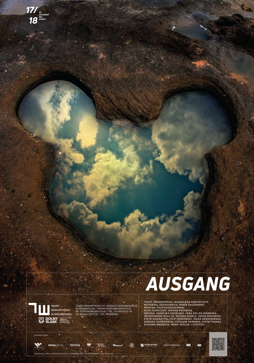 """Magda Koryntczyk, """"Ausgang"""", reż. Mirek Kaczmarek (źródło: materiały prasowe teatru)"""