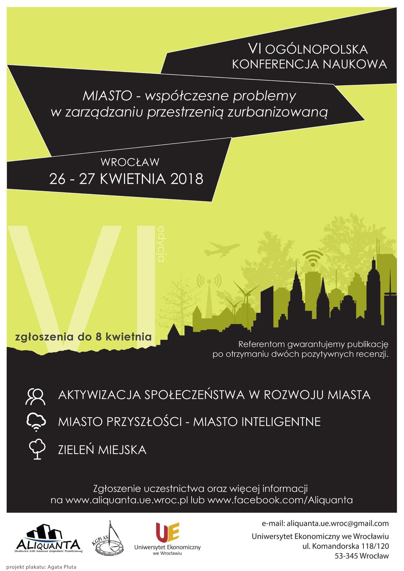 Plakat konferencji (źródło: materiały prasowe organizatora)