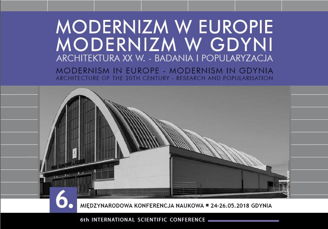 """""""Modernizm w Europie – modernizm w Gdyni"""" (źródło: materiały prasowe organizatora)"""