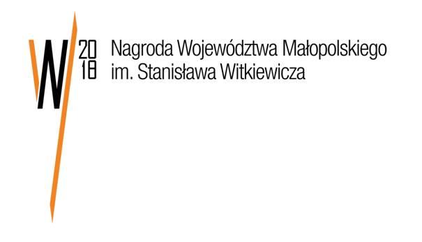 Logo Nagrody Województwa Małopolskiego im. Stanisława Witkiewicza 2018 (źródło: materiały prasowe SARP)
