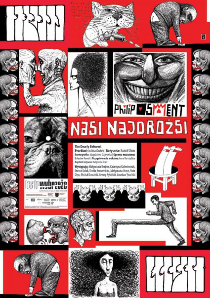 """""""Nasi Najdrożsi"""" reż. Rudolf Zioło, plakat (źródło: materiały prasowe organizatora)"""