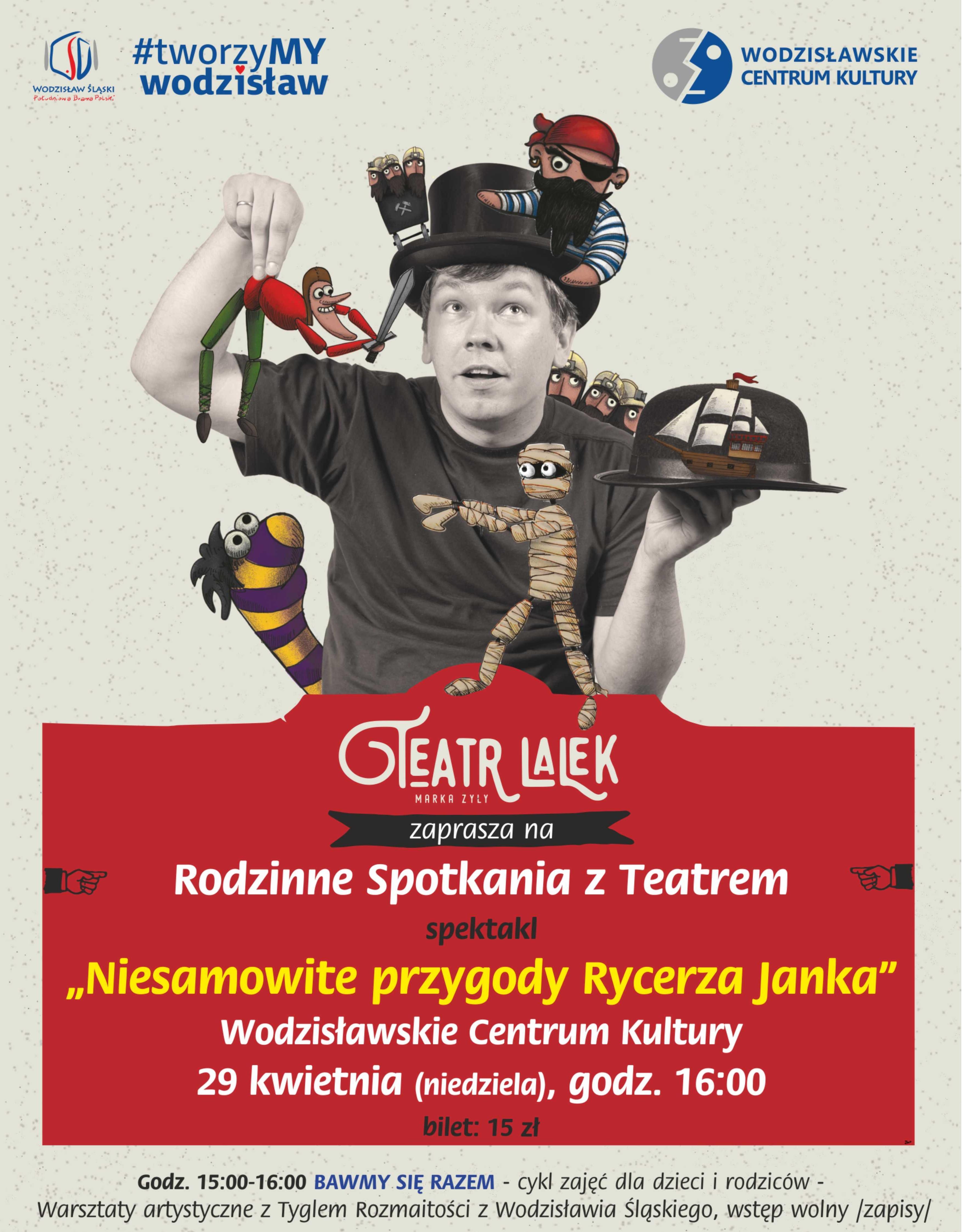 """""""Niesamowite przygody Rycerza Janka"""" – plakat (źródło: materiały prasowe organizatora)"""