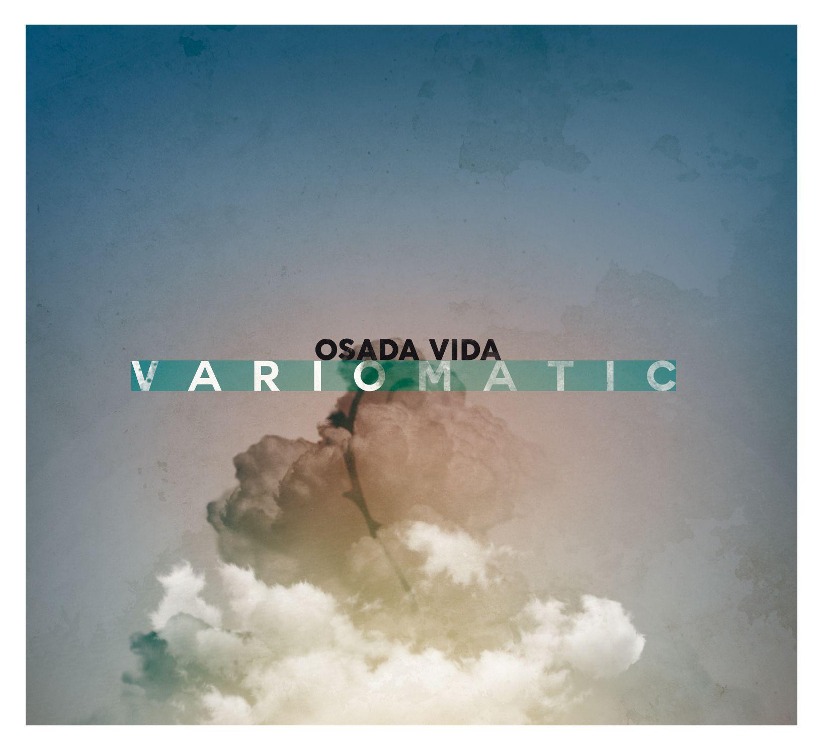 """Osada Vida """"Variomatic"""" – okładka płyty (źródło: materiały prasowe wytwórni)"""