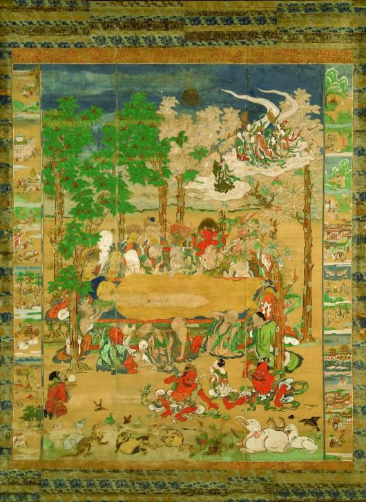 """""""Nirwana Buddy"""", XVII w. (źródło: materiały prasowe organizatora)"""