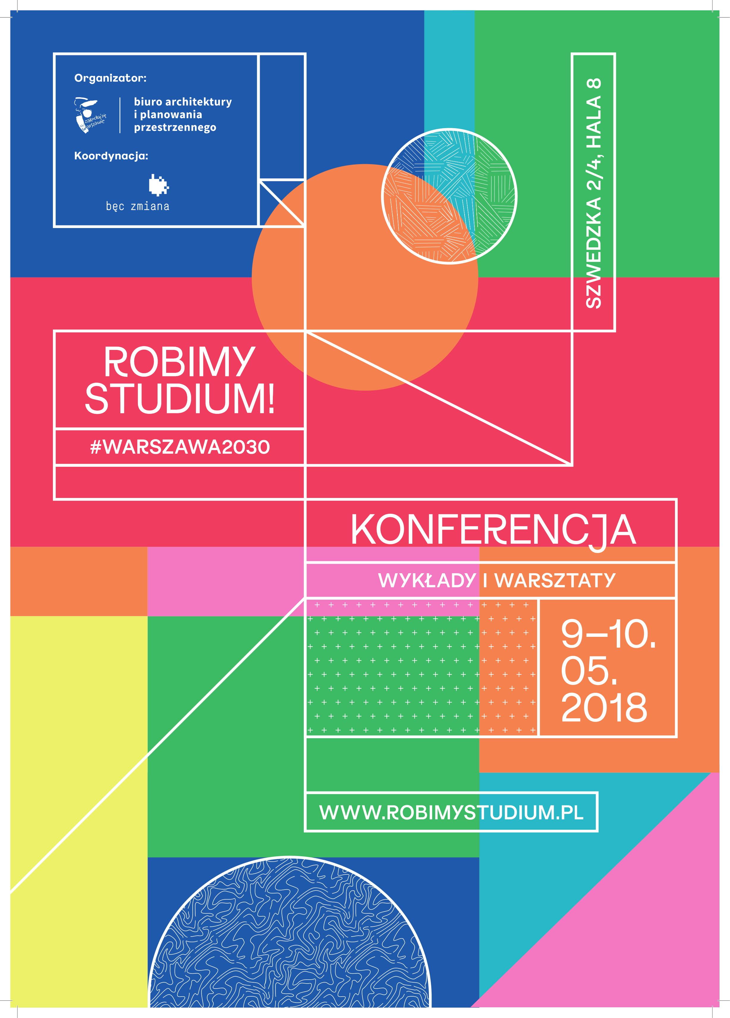 """Plakat konferencji """"Robimy Studium"""" (źródło: materiały prasowe)"""