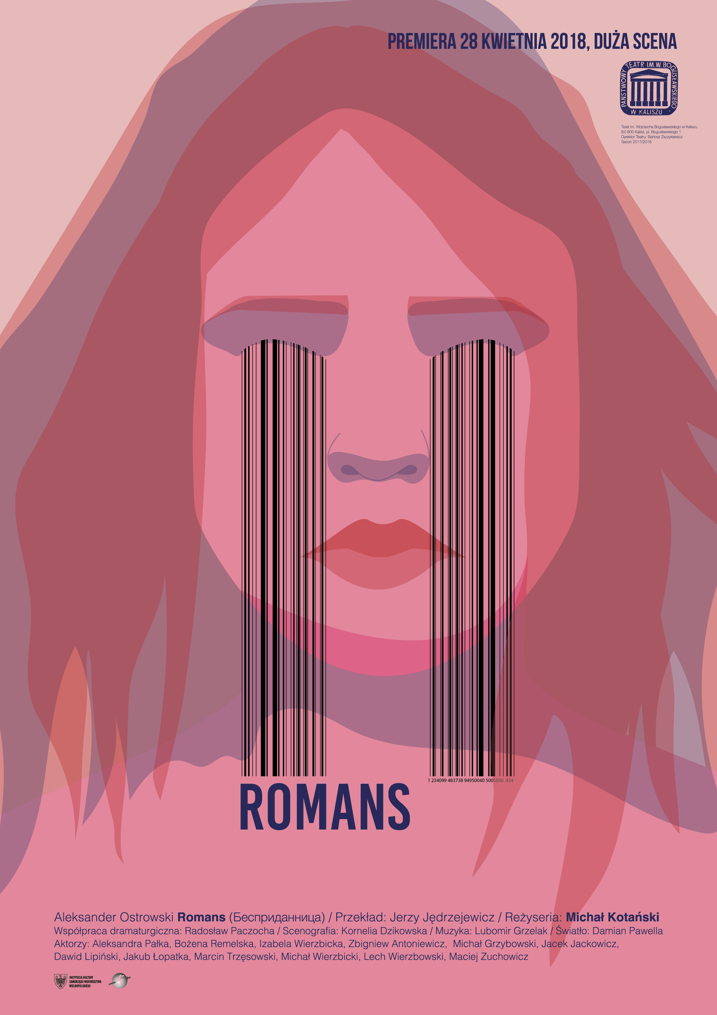 """Romans"" reż. Michał Kotański, plakat (źródło: materiały prasowe organizatora)"