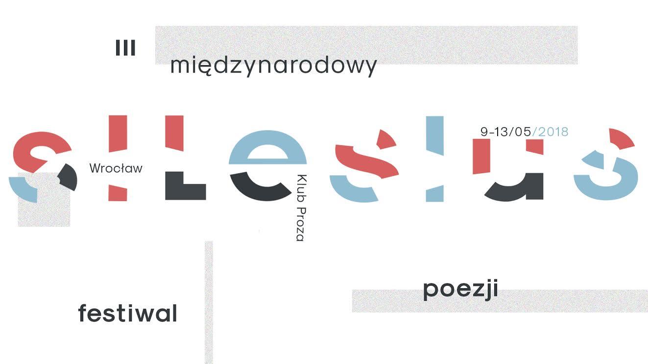 III Międzynarodowy Festiwal Poezji Silesius, plakat (źródło: materiały prasowe organizatora)