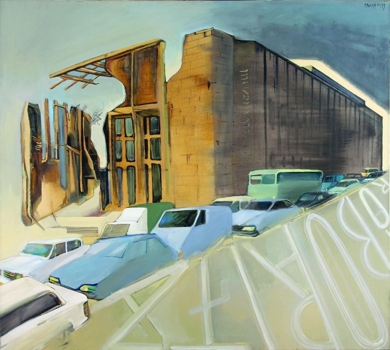 """Jacek Sroka, """"Ruiny Muzeum Narodowego"""", 1999 (źródło: materiały prasowe organizatora)"""