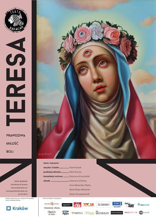 """Teresa"" reż. Paweł Szarek, plakat (źródło: materiały prasowe organizatora)"