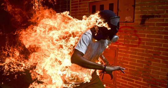 "Ronaldo Schemidt, ""Venezuela Crisis"" (źródło: materiały prasowe organizatora)"