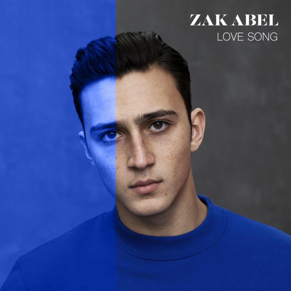 """Zak Abel, """"Love Song"""" – okładka singla (źródło: materiały prasowe wytwórni)"""