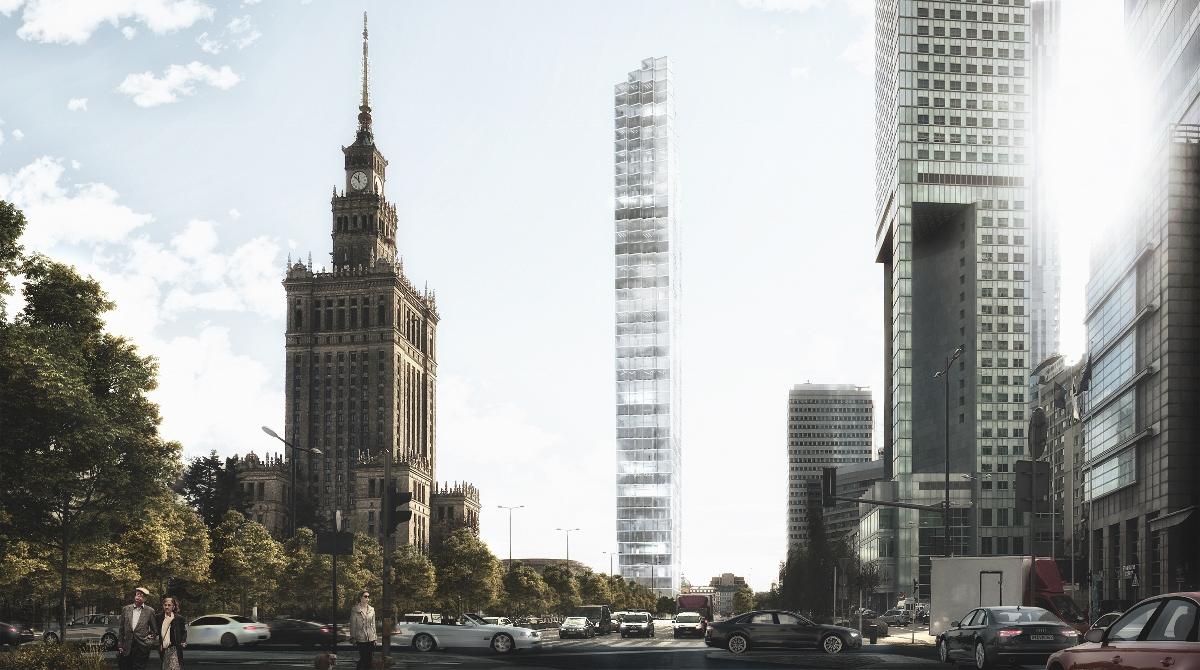 Filtr powietrza dla Warszawy, projekt: Michał Dołbniak (źródło: materiały prasowe organizatora)