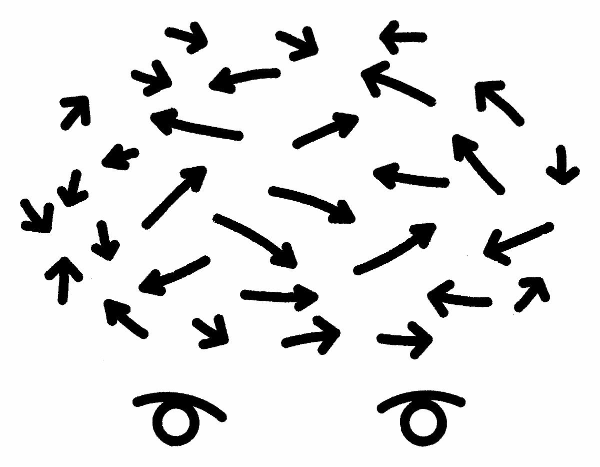 """Michał Gayer, """"Coś mi chodzi po głowie. Justyna Gryglewicz"""", rysunek tuszem na papierze, 2018 (źródło: materiały prasowe organizatora)"""