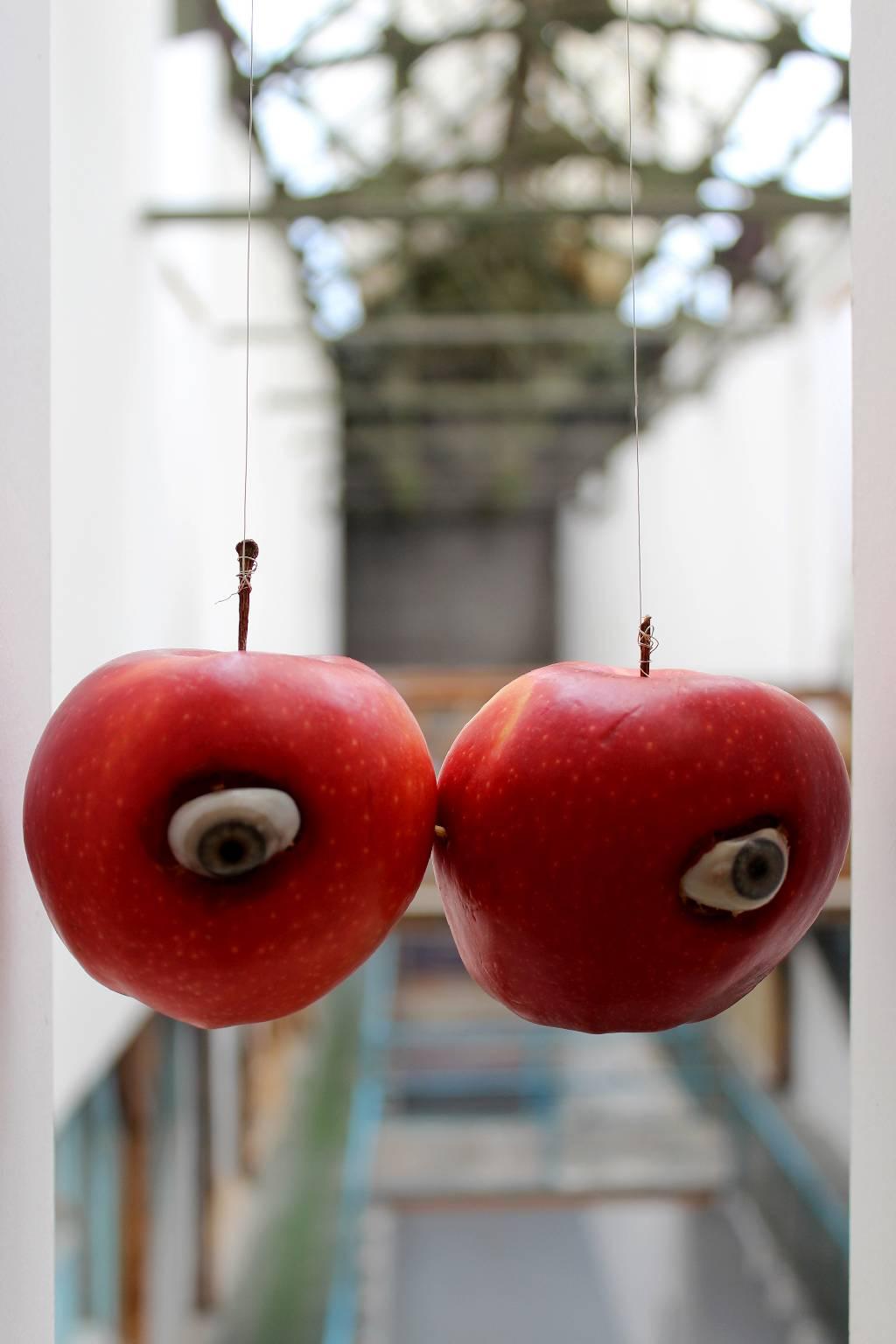 """Agnieszka Grodzińska, """"Apple View"""", 2016 (źródło: materiały prasowe organizatora)"""
