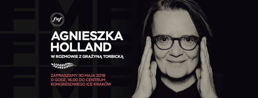 Agnieszka Holland, plakat (źródło: materiały prasowe organizatora)