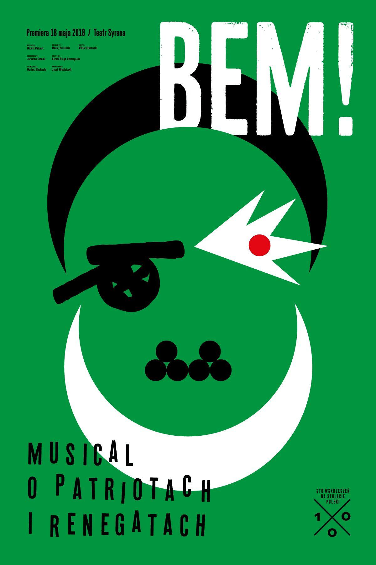 """Pożar w Burdelu, """"BEM! Musical o patriotach i renegatach"""" (źródło: materiały prasowe)"""