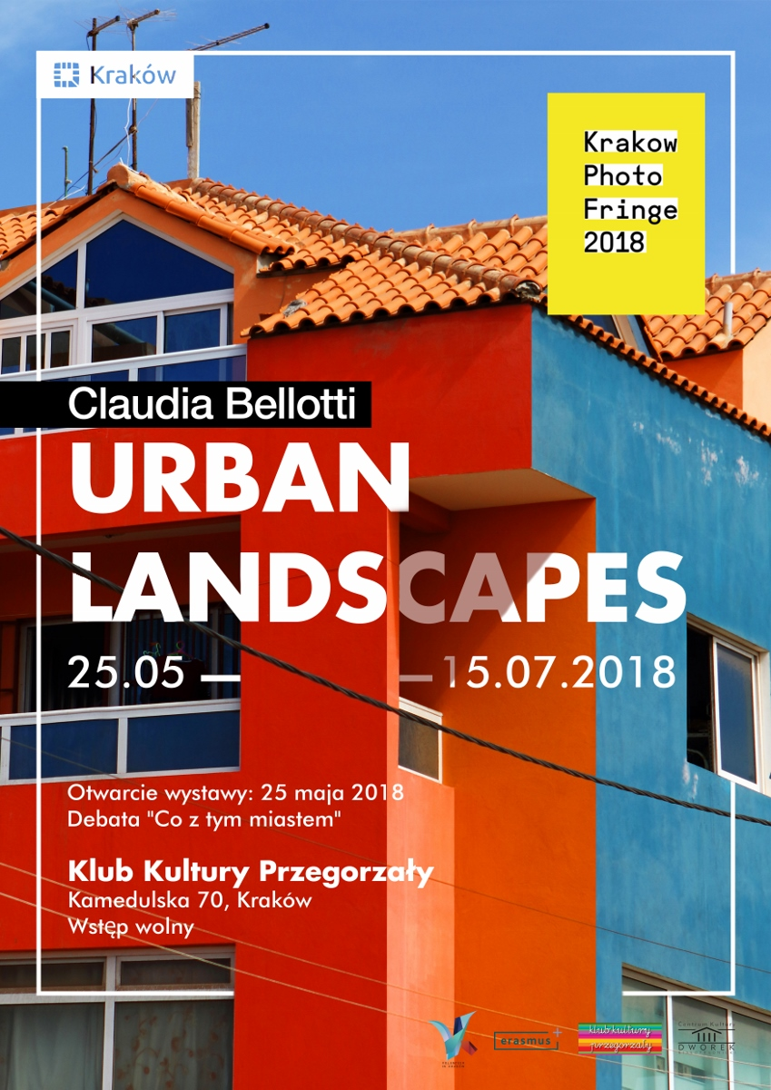 """Plakat wystawy """"Urban Landscapes"""" (źródło: materiały prasowe organizatora)"""