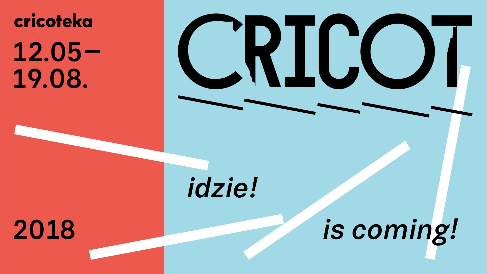 """""""Cricot idzie!"""" (źródło: materiały prasowe organizatora)"""