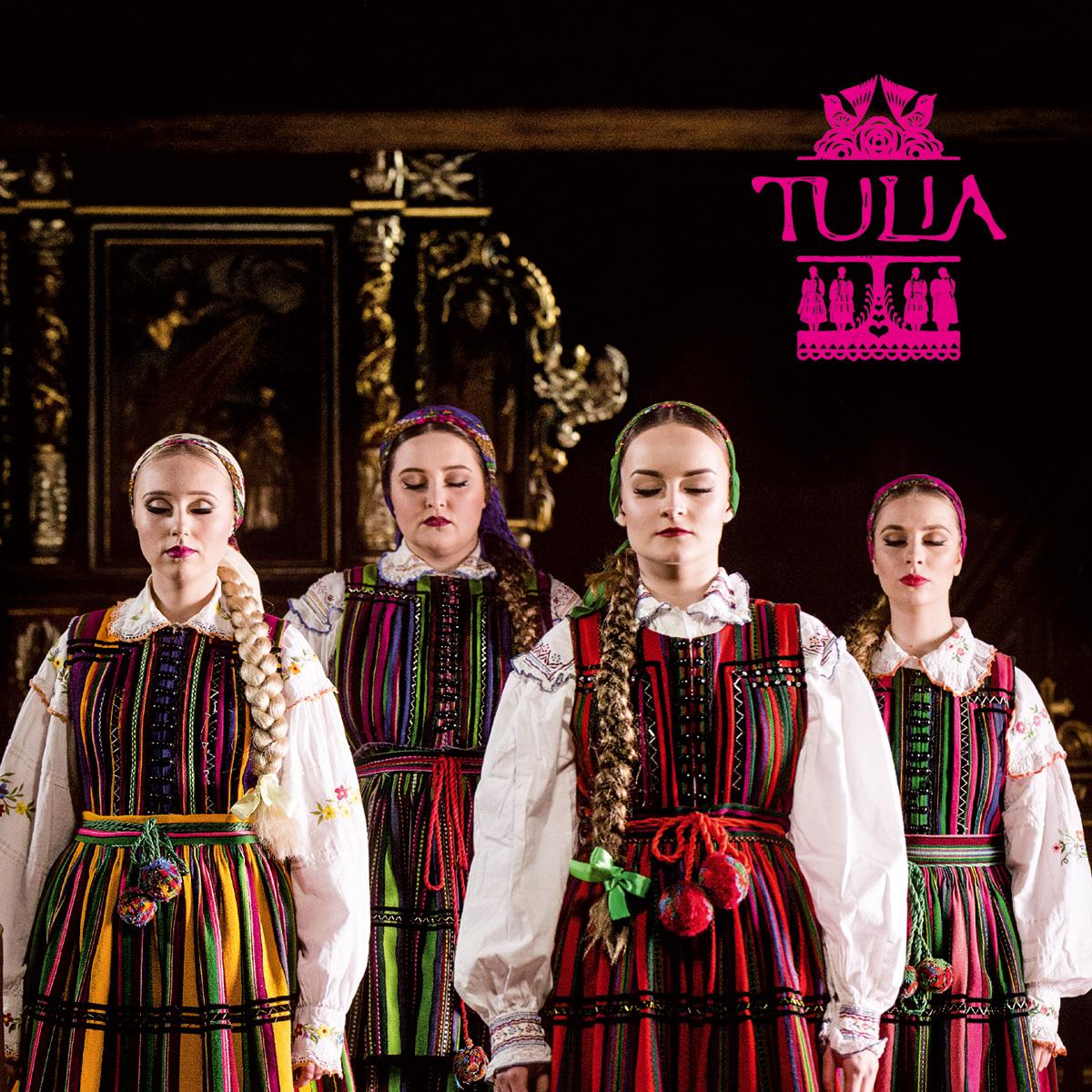 Okładka debiutanckiego albumu TULIA (źródło: materiały prasowe)