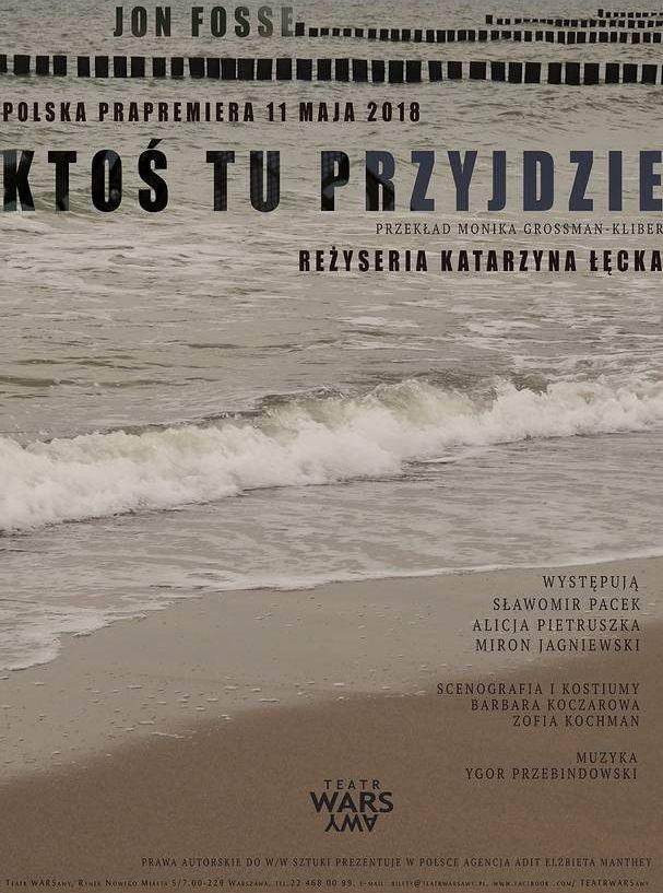 """Jon Fosse, """"Ktoś tu przyjdzie"""", reż. Katarzyna Łęcka (źródło: materiały prasowe teatru)"""