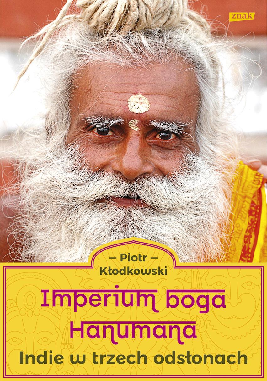 """""""Imperium Boga Hanumana"""" Piotr Kłodkowski, okładka (źródło: materiały prasowe wydawnictwa)"""
