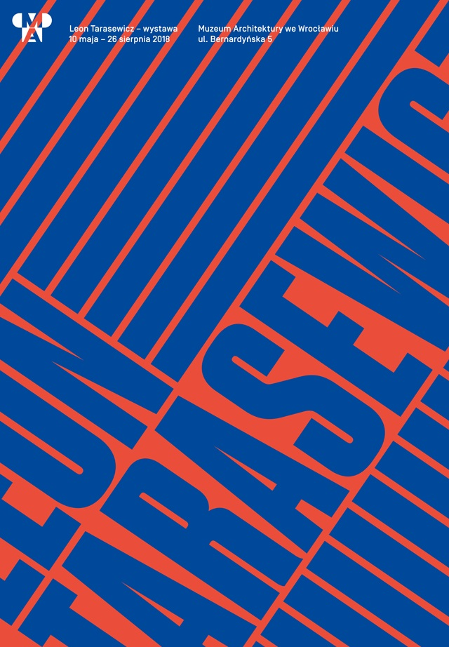 Plakat wystawy Leona Tarasewicza (źródło: materiały prasowe organizatora)