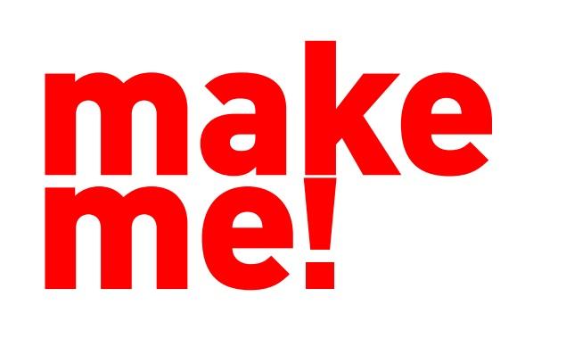 "Logotyp konkursu ""make me!"" (źródło: materiały prasowe organizatora)"