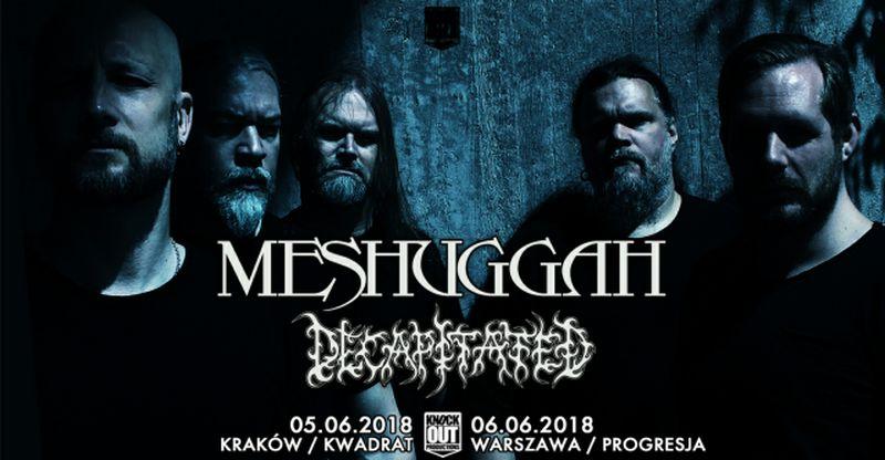 Meshuggah (źródło: materiały prasowe organizatora)