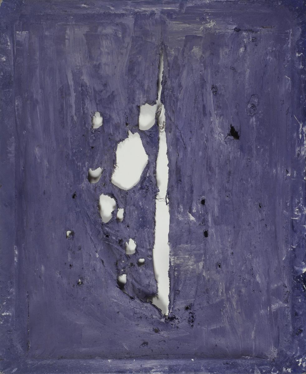 """Jacek Sempoliński, """"Czaszka"""", 1985, dzięki uprzejmości Zachęty – Narodowej Galerii Sztuki (źródło: materiały prasowe organizatora)"""
